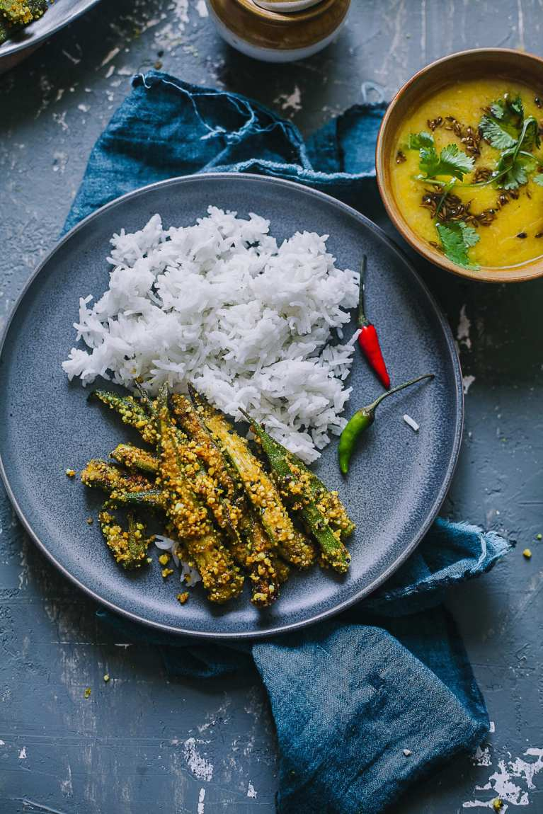 Rice and Okra | Playful Cooking