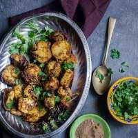 Sukhi Arbi (Spiced Stir-Fried Taro Roots) | Playful Cooking
