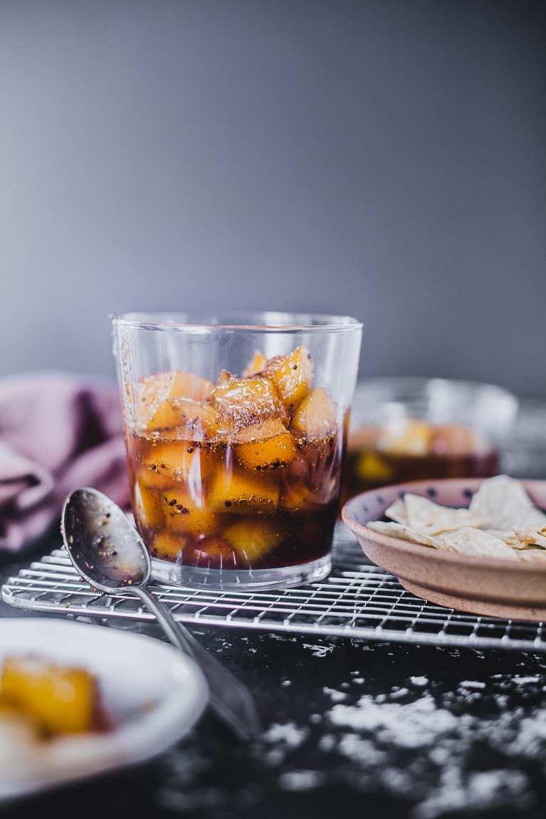Raw Mango Spiced Sweet Chutney | Kacha Aamer Mishti Chaatni #playfulcooking #foodphotography #chutney #mango #condiments #indian #spiced #sweet
