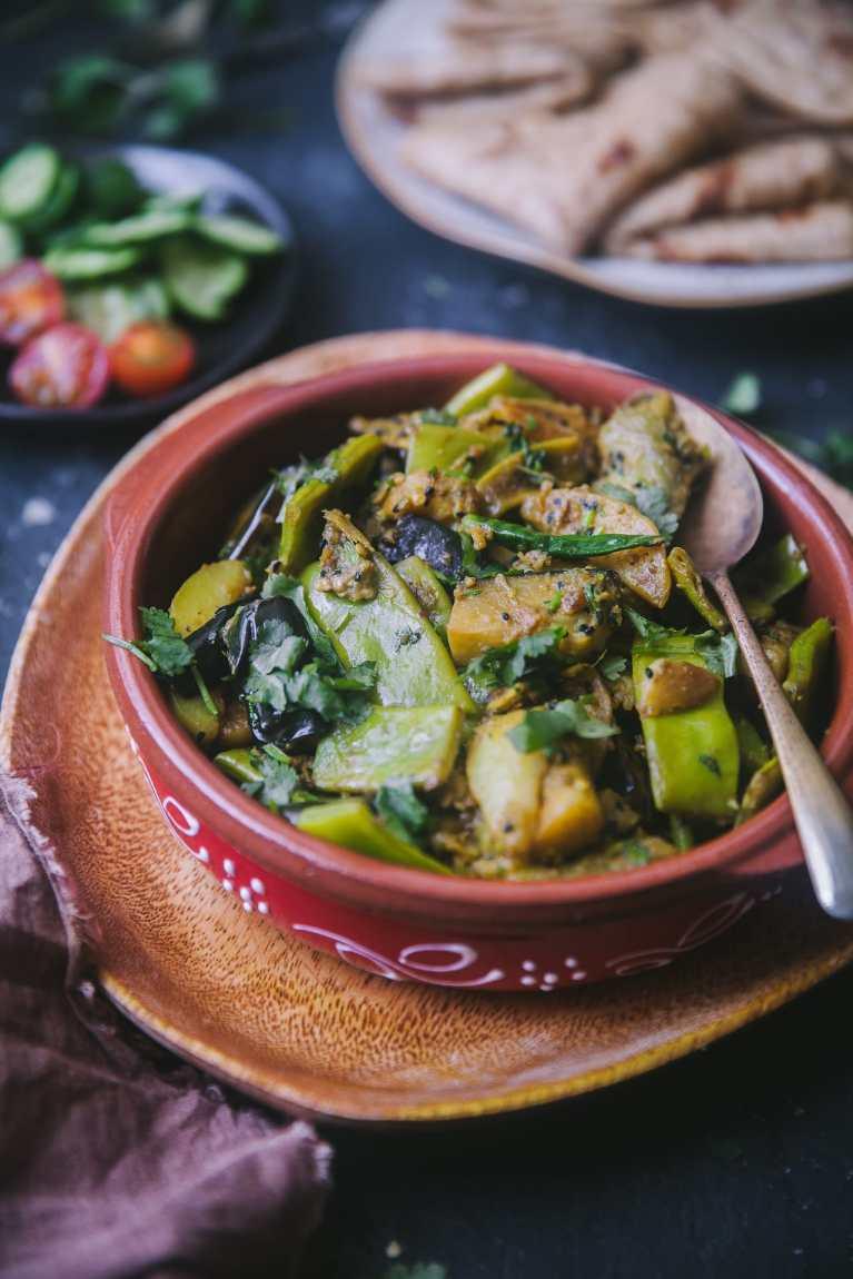 Shim Beguner Chorchori #playfulcooking #bengali #vegetarian #plantbased, #chorchori #foodphotography