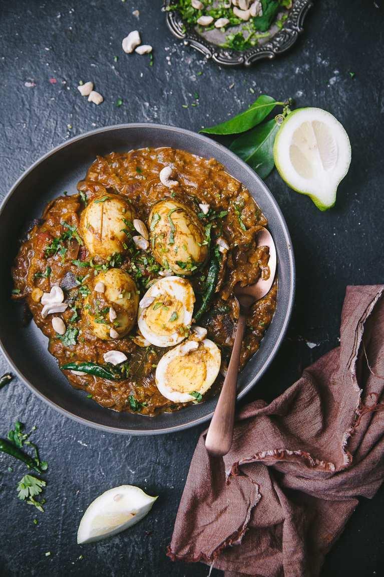 Dimer Kalia - Sweet Savory Bengali Egg Curry 15