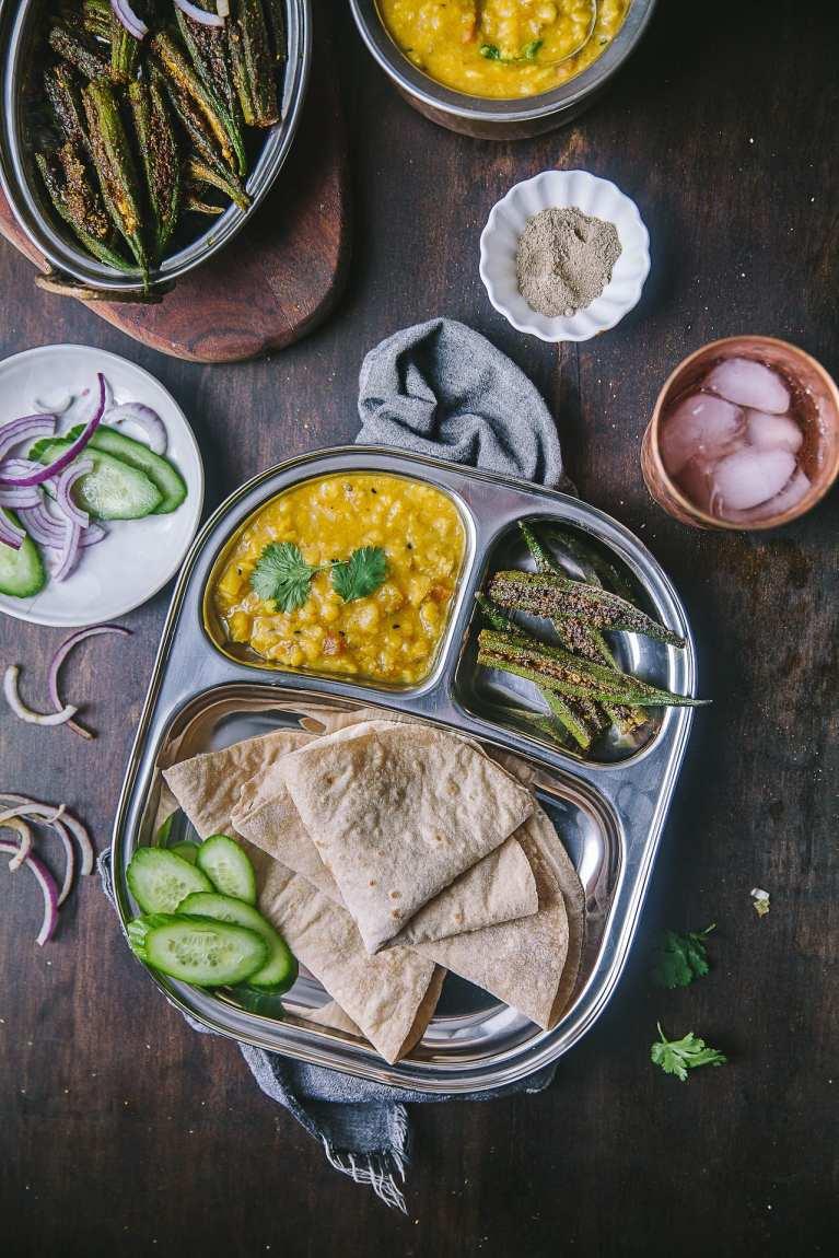 Bharwa Masala Bhindi (Spice Stuffed Okra) 6