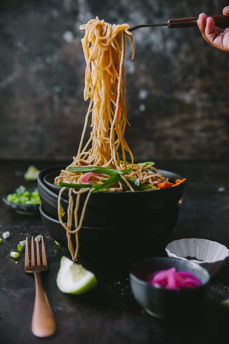 Vegetable Chow Mein 6
