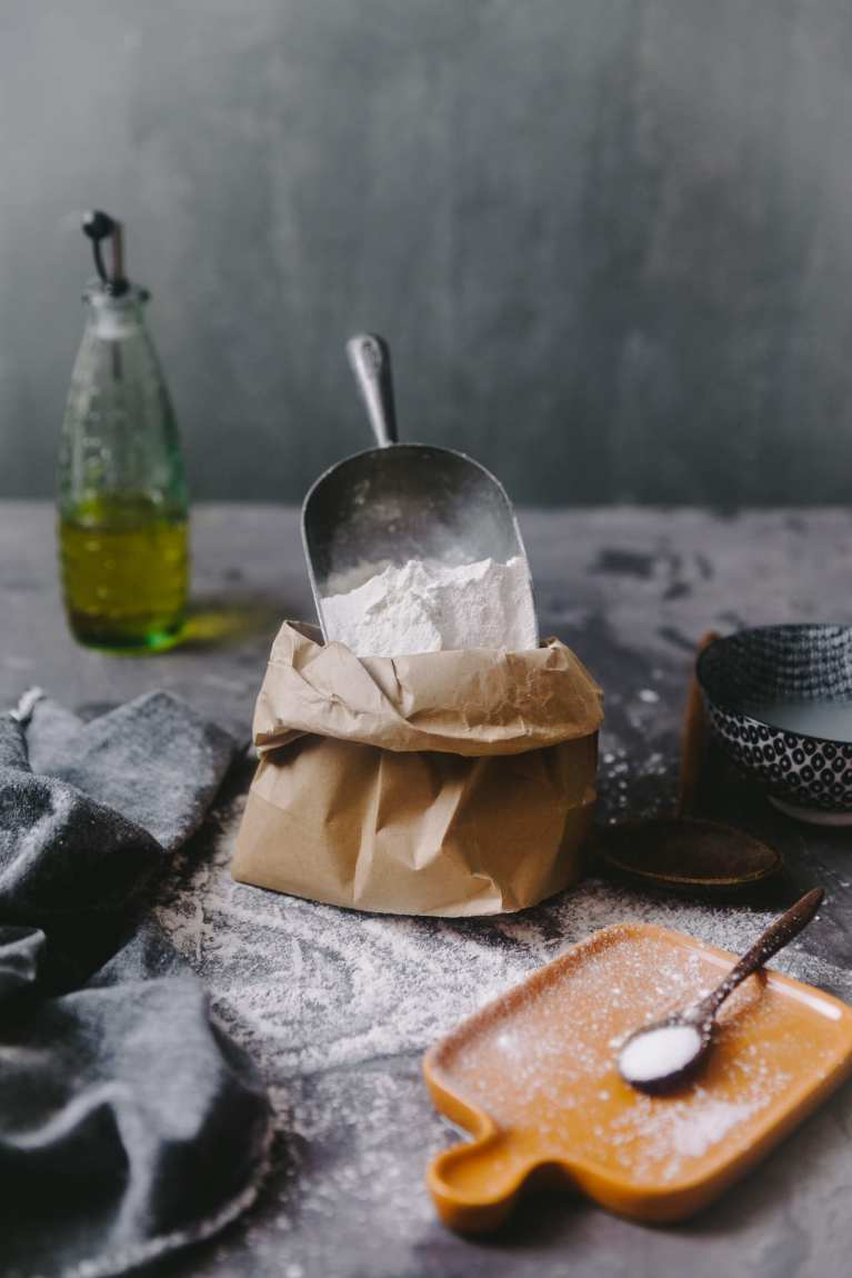 Flour photography | Playful Cooking #bread #baking #food-photography #noknead