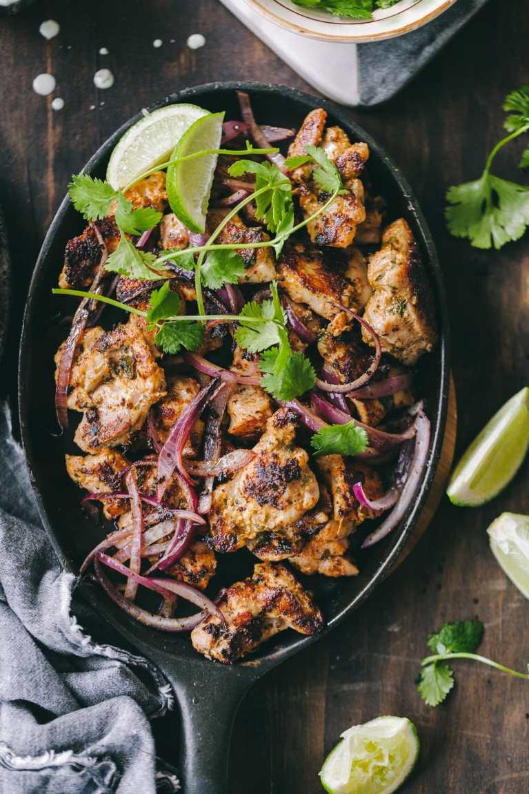 Tawa Chicken | Playful Cooking #chicken #tawachicken #easyrecipe #skilletchicken #taco