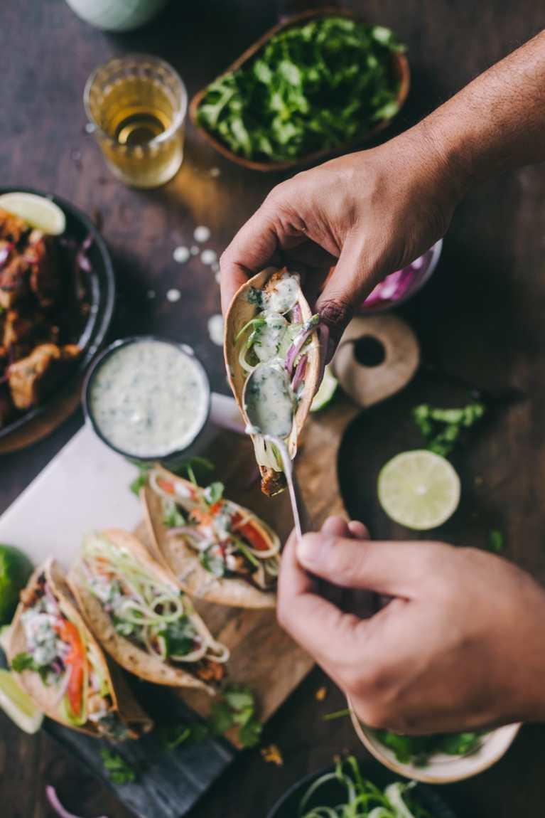 Tawa Chicken Taco | Playful Cooking #chicken #tawachicken #easyrecipe #skilletchicken #taco