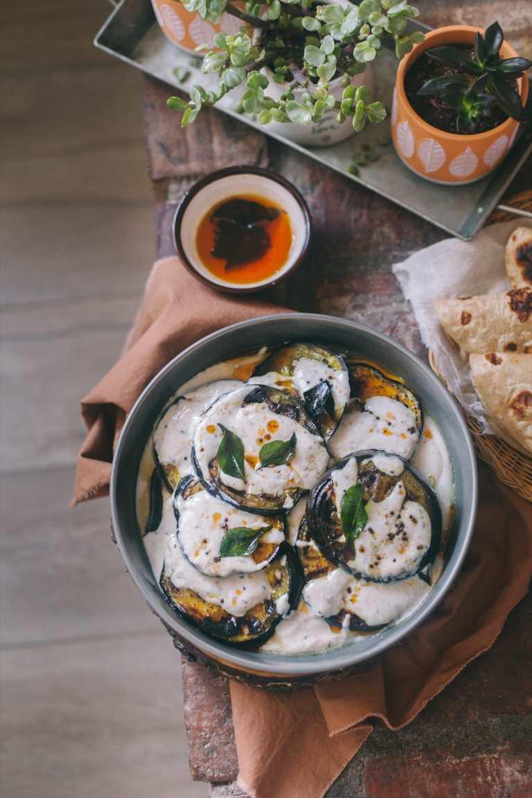 Doi Begun (Eggplant In Spiced Yogurt) 2