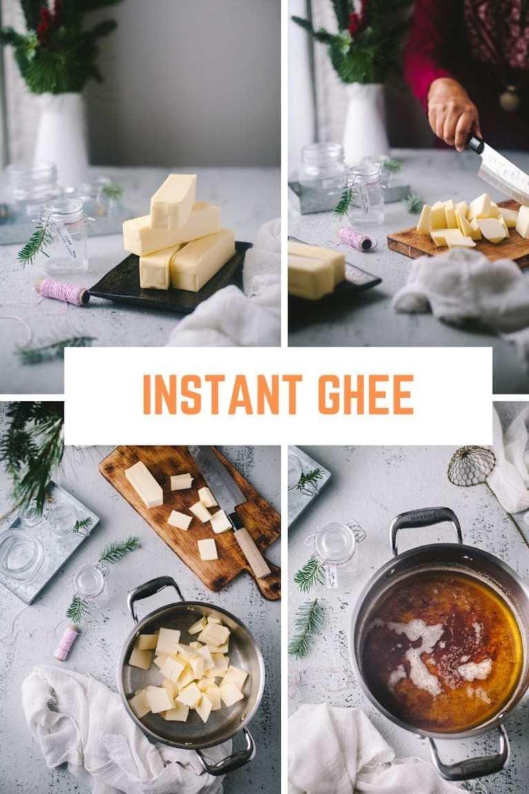 INSTANT Ghee Recipe #ghee #easy #butter #indian