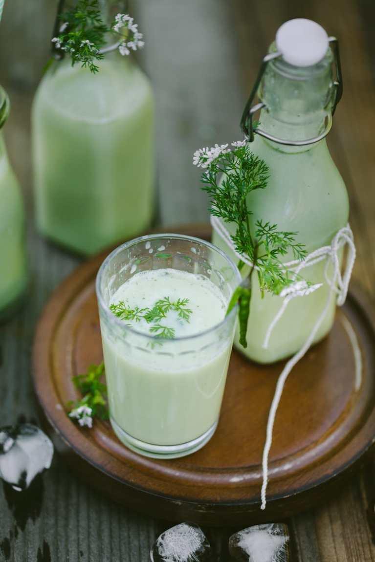 Mattha (Indian Spiced Yogurt Drink) 3