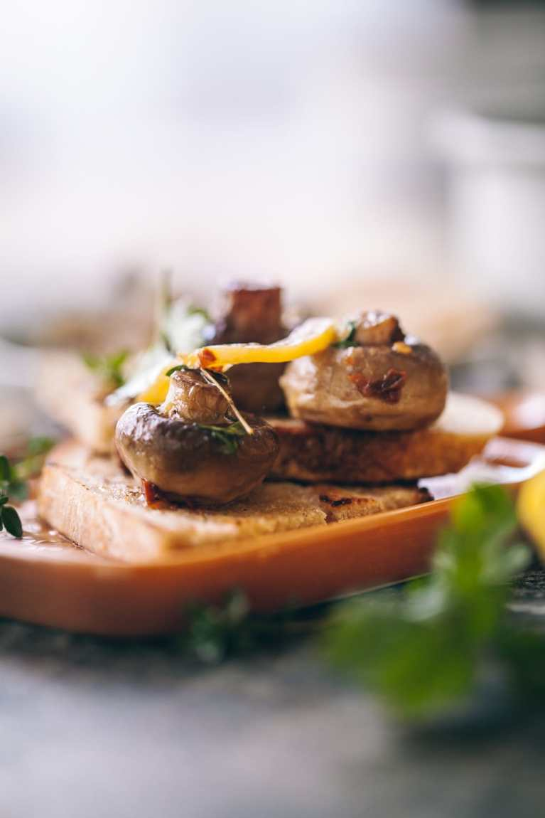 Food photography  Playful cooking #mushroom #roasting #garlic #foodphotography