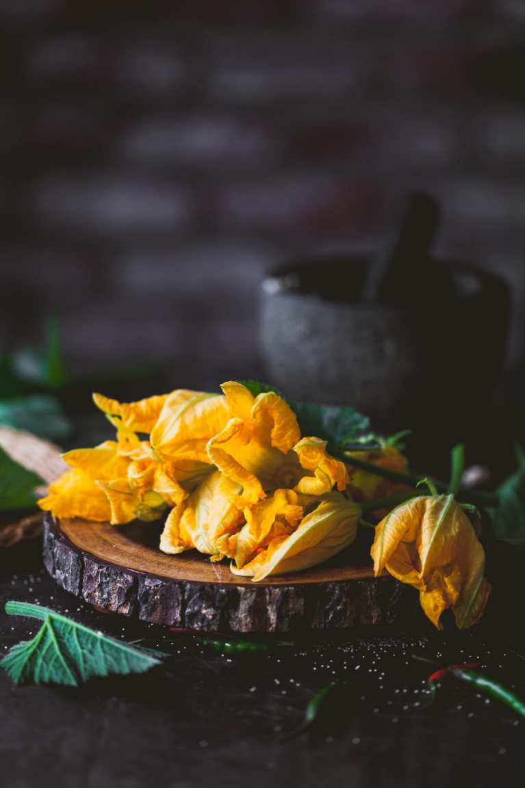 Zucchini Blossoms #foodphotography #summer