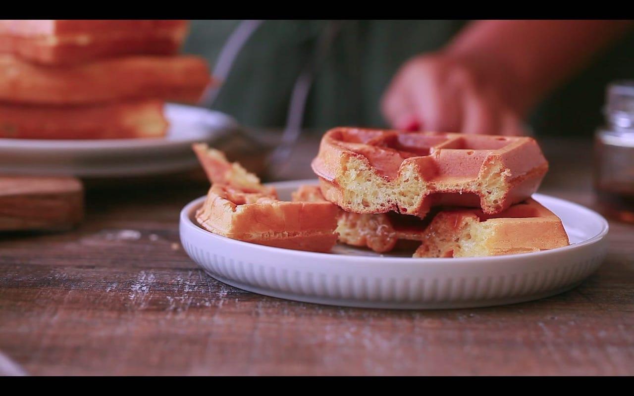 Belgian Waffles Restaurant Style 14
