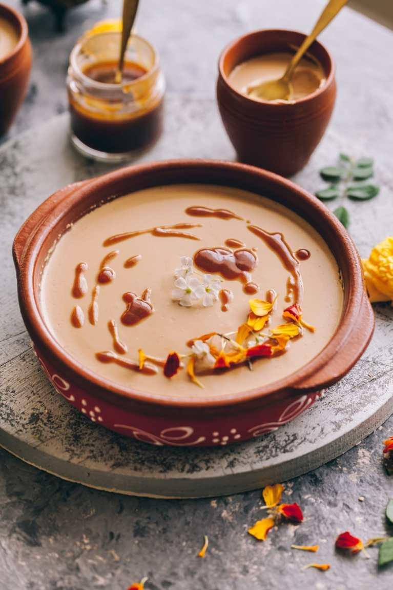 Caramelized Sugar Sweetened Yogurt - Bengali Dessert