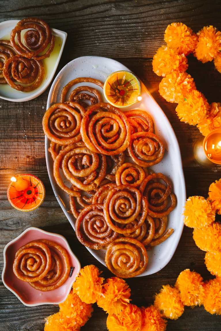 Instant Jalebi - with TIPS and VIDEO