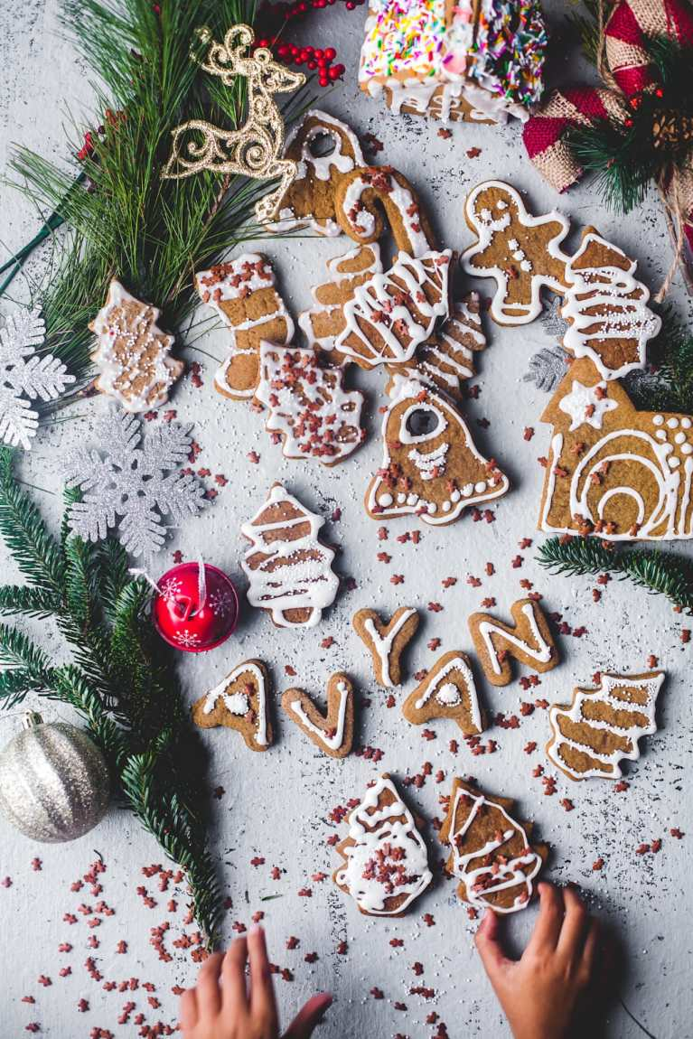 Soft Ginger Bread Cookies