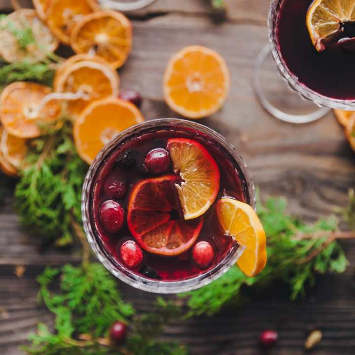 Orange Spiced Mulled Wine