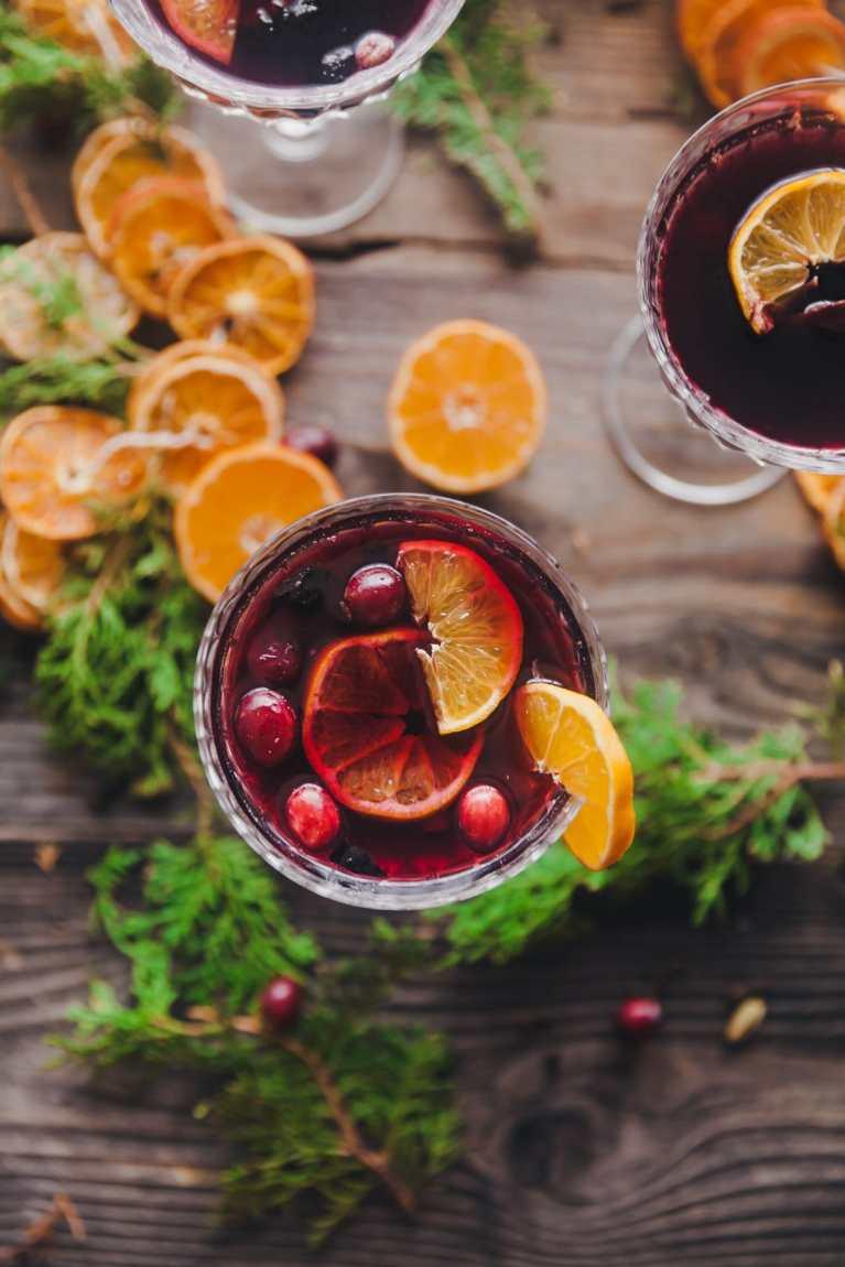 Holiday Drinks - Spiced Warm Wine