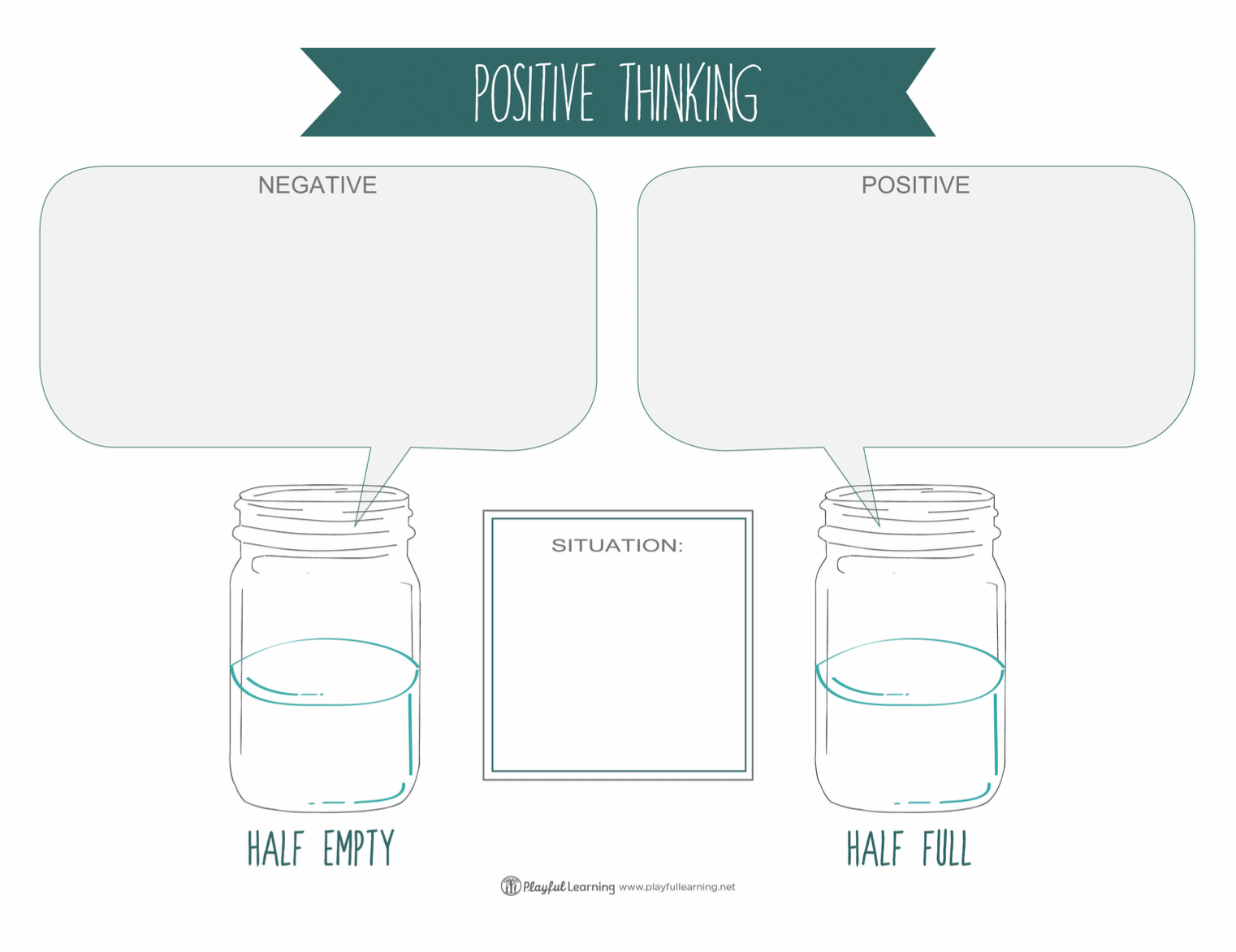 Glass Half Full The Power Of Positive Thinking Playful