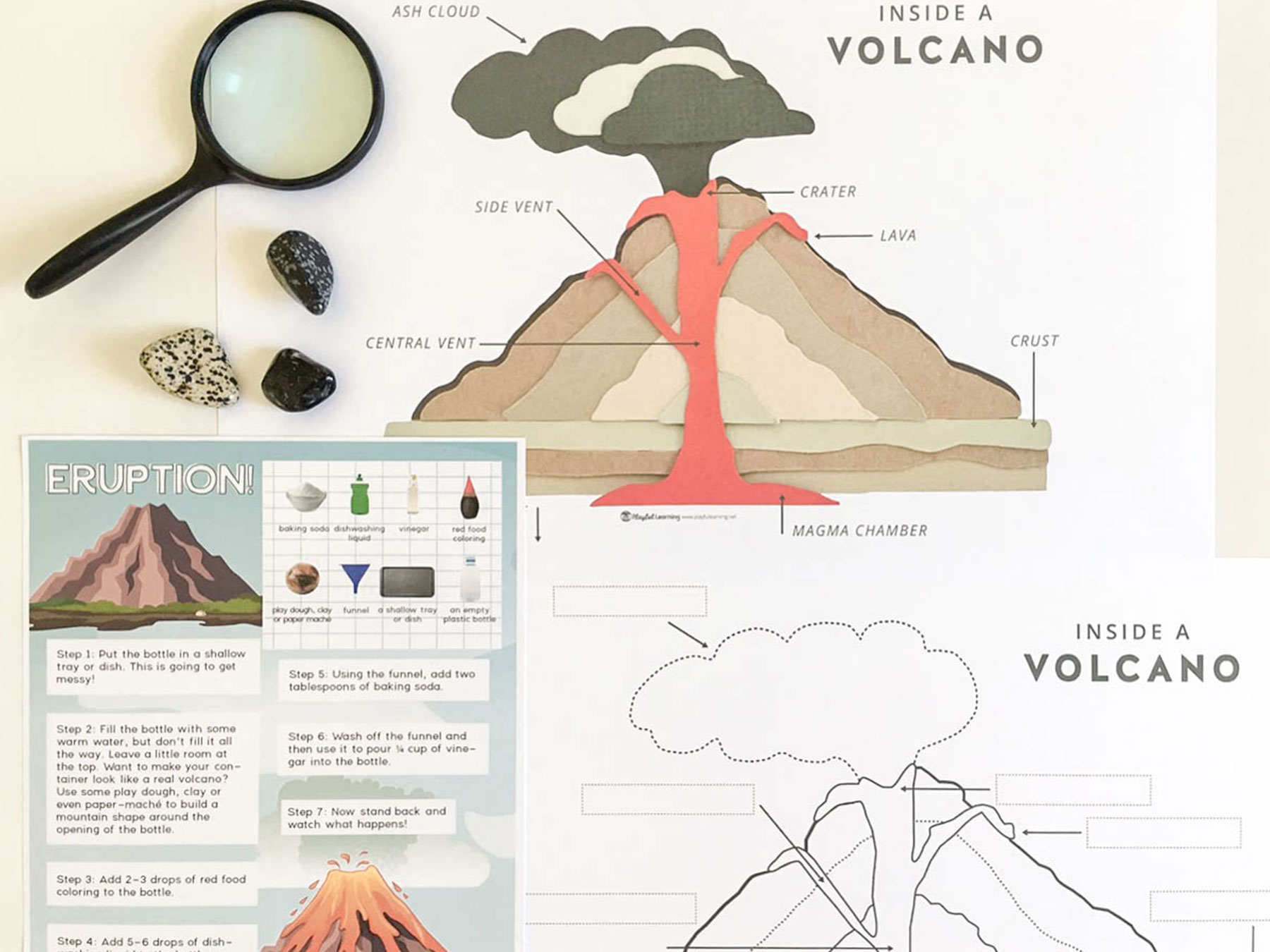 inside volcano diagram vent strat wiring hss playful learning