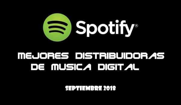 TOP 4 mejores webs de distribución de música digital