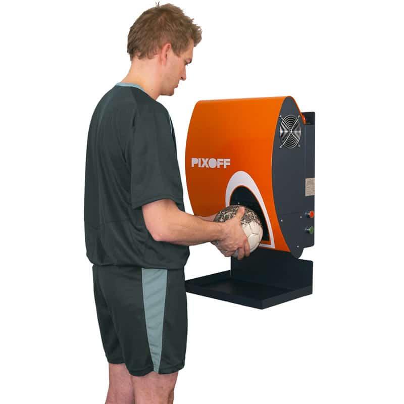 Machine facile à utiliser pour nettoyer vos ballons de handball