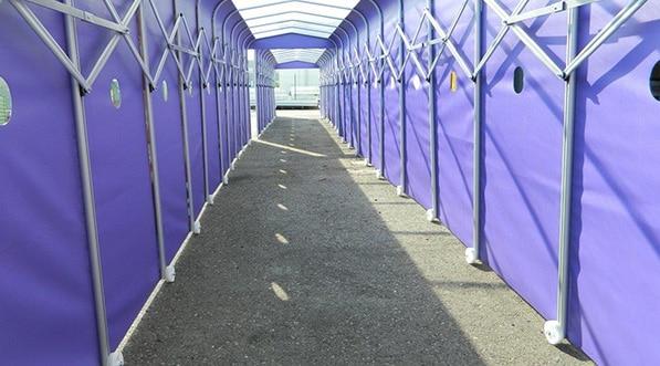 Tunnel d'accès Milka