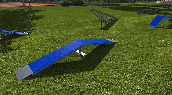Nos modules pour bikepark sont en resine composite