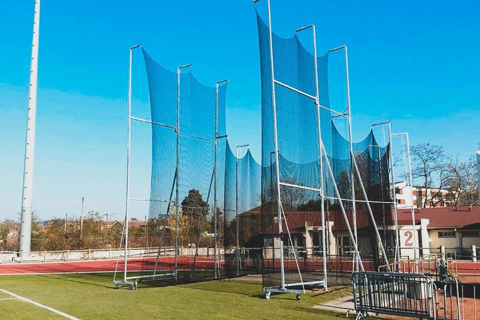 Nouvelle cage de lancer