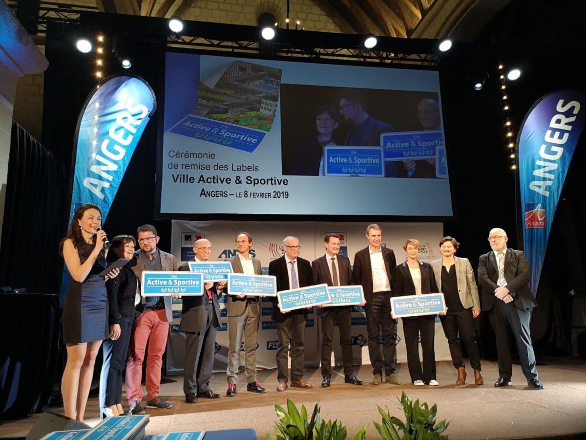 Cérémonie à Angers en 2019