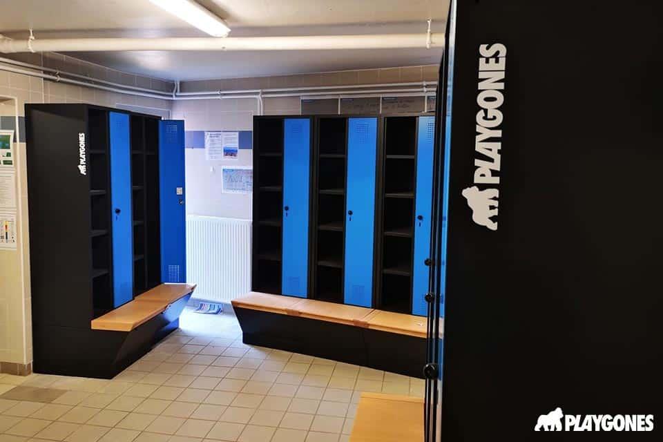 Stade de Ladoumègue à Massy nouveau vestiaire pour le rugby pro