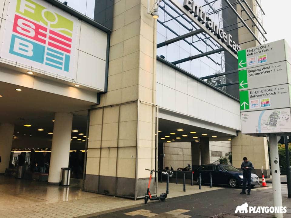 Entrée du Koelnmesse de Cologne lors du FSB 2019
