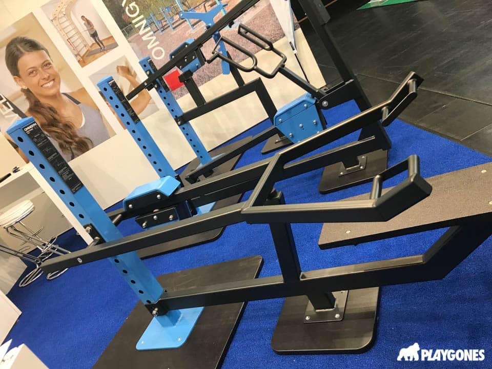 Omnigym, machine de musculation en accès libre, distribution Française Playgones