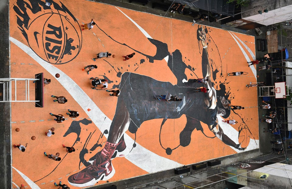 Hommage à. LeBron James - Manille, Philippines