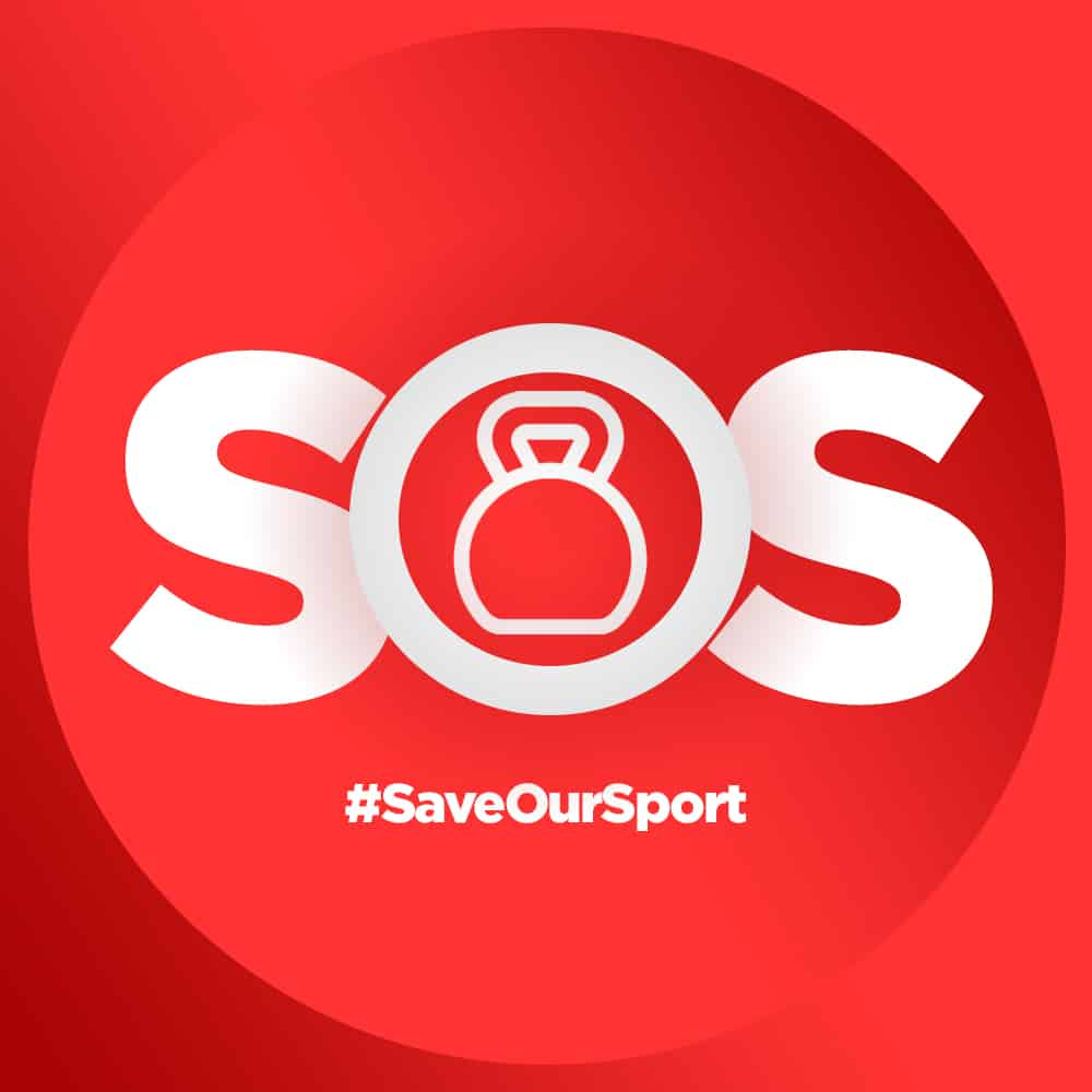 SOS Fitness workout - #saveoursport