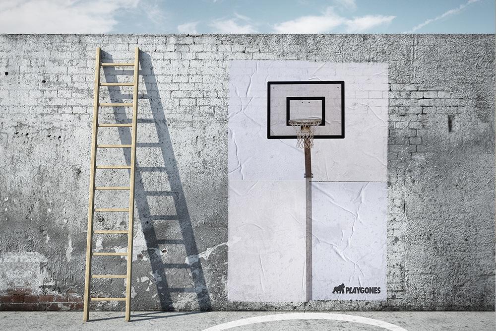 basket - sport de rue - marketing sportif et propagande active