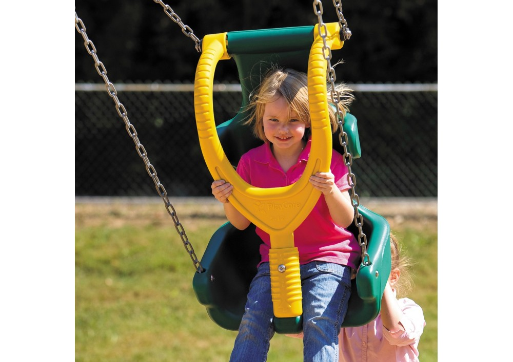 swing chair benefits fabric swivel and footstool buy a safe for disabled child to share the fun with all large adaptive seat