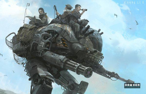 Hawken Artwork - Free-play Multiplayer -person