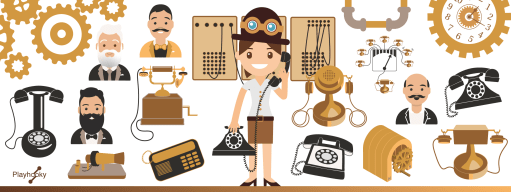 L'évolution des téléphones
