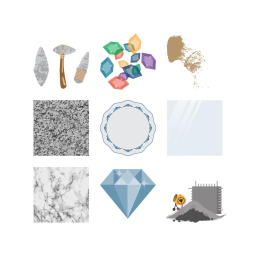 Les matériaux minéraux