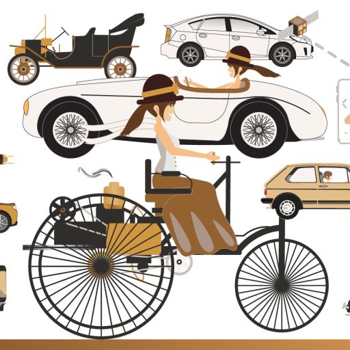L'évolution de l'automobile