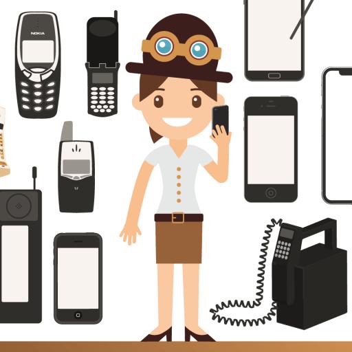 L'évolution des téléphones mobiles