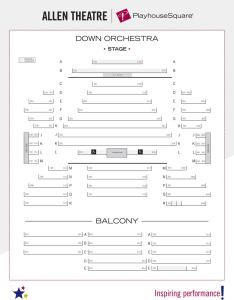 Seating charts thumb allentheatre  also playhouse square rh playhousesquare