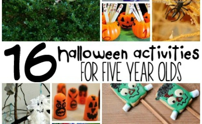16 Halloween Activities For 5 Year Olds Page 2