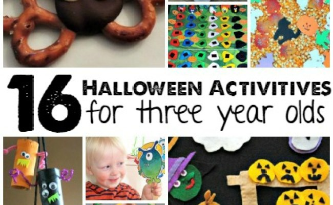 16 Halloween Activities For 3 Year Olds Page 6