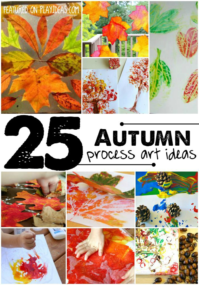 25 autumn process art