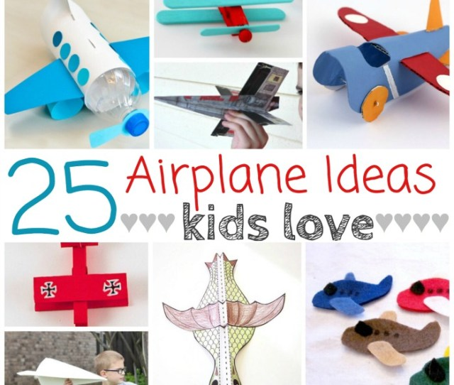 Airplane Projects Kids Love