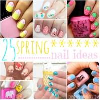 25 Gorgeous Spring Nail Ideas