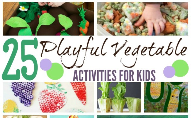 25 Playful Vegetable Activities For Kids Page 22