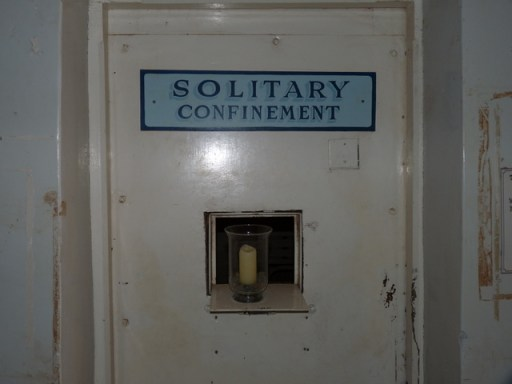 Solitary Confinement Cell door