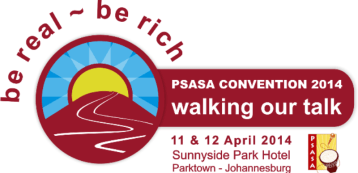 PSASA Convention 2014 Logo Walking our Talk